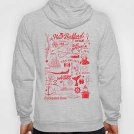 New Bedford Massachusetts Print Hoody