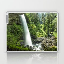 Looking Out From Under North Falls Laptop & iPad Skin