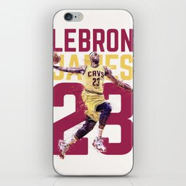 James The King Cavaliers iPhone Skin