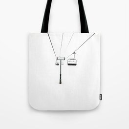 White out Tote Bag