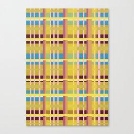 New Plaid 3 Canvas Print