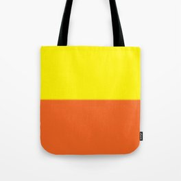 Abstract in orange and yellow Tote Bag