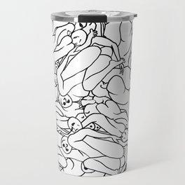 Fifty shades of Love (Light) Travel Mug