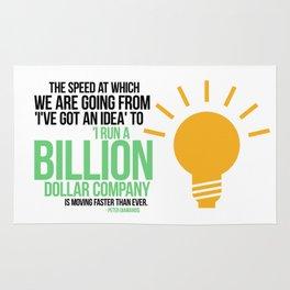 You Can Run a Billion Dollar Company Rug