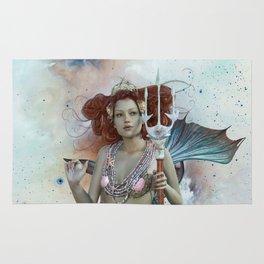 Space Siren: Mermaids of the Sky Rug