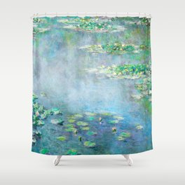 Monet Water Lilies / Nymphéas 1906 Shower Curtain
