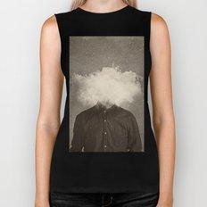 Head In the clouds Biker Tank