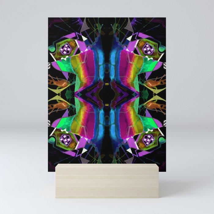 二 (Èr) Mini Art Print