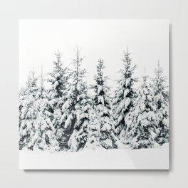 Snow Porn Metal Print