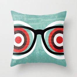 bullseyes Throw Pillow