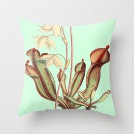 Heliamphora nutans Throw Pillow