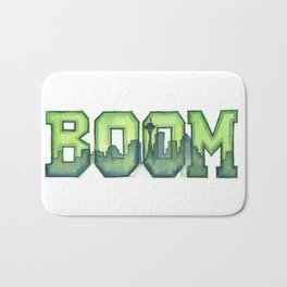 Legion of Boom Seattle 12th Man Art Bath Mat