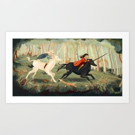 The Unicorn Dream by Emily Winfield Martin Art Print