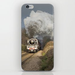 En Route To The Station iPhone Skin