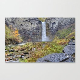 On The Floor Canvas Print