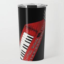 Keytar - Red Travel Mug