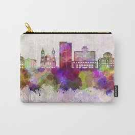Phoenix skyline in watercolor background Carry-All Pouch