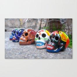 Sugar Skulls Canvas Print