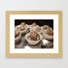 Coconut love Framed Art Print