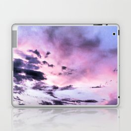 fly up to the blue pink sky Laptop & iPad Skin