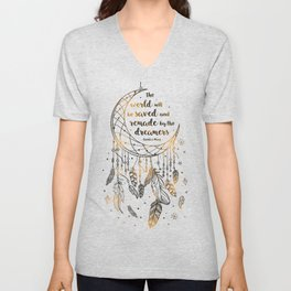 Saved and Remade Unisex V-Neck
