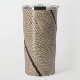 Wood Paneling Travel Mug