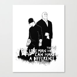 The Devil and the Ill Intent Canvas Print