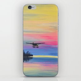 Sunset Beaver iPhone Skin