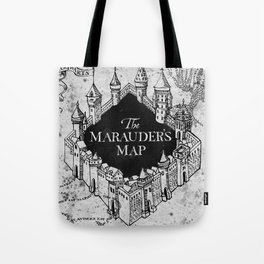 Marauders Map Tote Bag