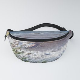 Waves Rolling up the Beach Fanny Pack