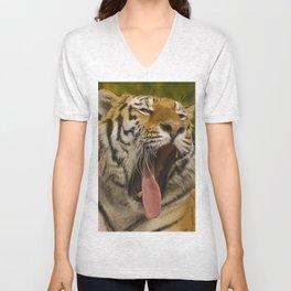 Amur Tiger Unisex V-Neck