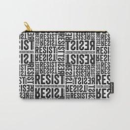 RESIST newsprint Carry-All Pouch