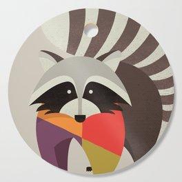 Raccoon Cutting Board