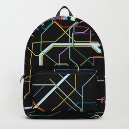 Paris Subway Map Backpack