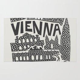 Vienna City Print Rug