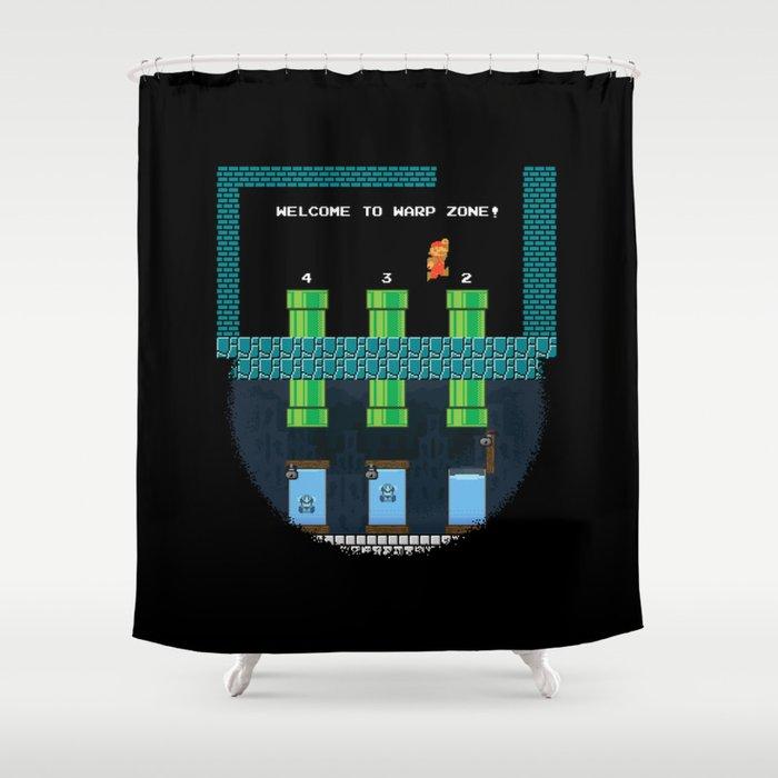 Mario Prestige Shower Curtain