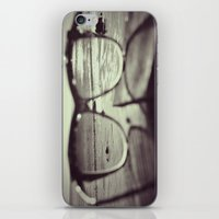 sunglasses iPhone & iPod Skins featuring sunglasses by Nikole Lynn Photography