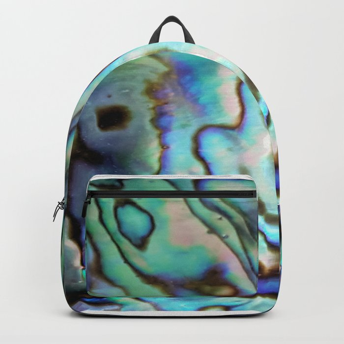 Effervescent Seashell Abstract Backpack