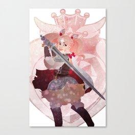 pretty soldier sailor chibimoon Canvas Print