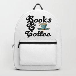 Books & Coffee Backpack