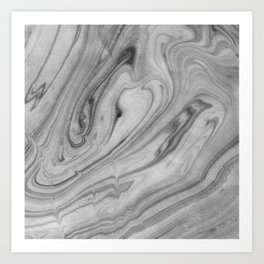 Neutral Waves Art Print