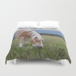 Blonde Beauty Duvet Cover