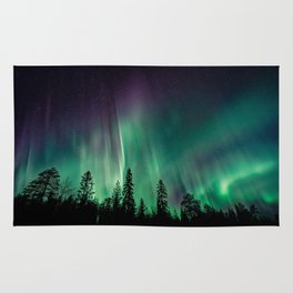 Aurora Borealis (Heavenly Northern Lights) Rug