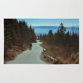 Path up the Great Smoky Mountains Rug