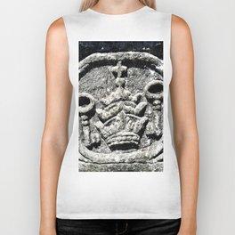 Ancient Church Carvings Biker Tank