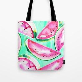 Watermelon tropics Tote Bag