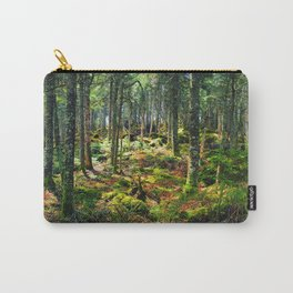 Late Spring Forest Carry-All Pouch