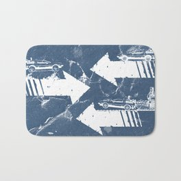 Back to the Future Minimalist Poster Bath Mat