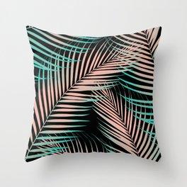 Palm Leaves - Cali Vibes #2 #tropical #decor #art #society6 Throw Pillow