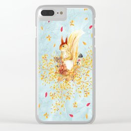 Autumn leaves #35 Clear iPhone Case